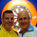 Dave Chisnall and Ian White