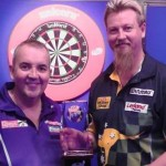 Darter Phil Taylor i Simon Whitlock