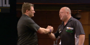 Darter James Wade i Mervyn King