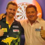 Darter Simon Whitlock i Dennis Priestley