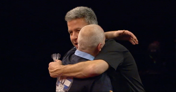 Darter Robert Thornton i Magnus Caris