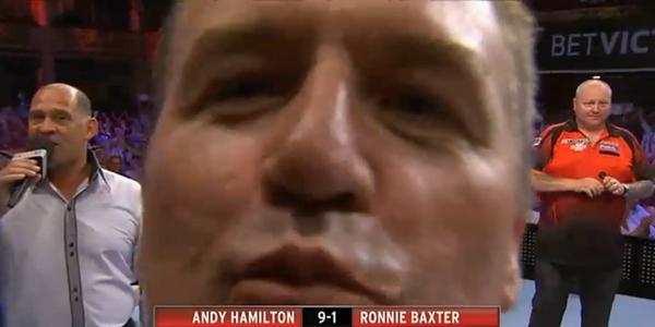 Darter Ronnie Baxter