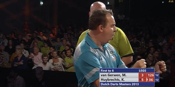 Kim Huybrechts właśnie wygrał nad MvG