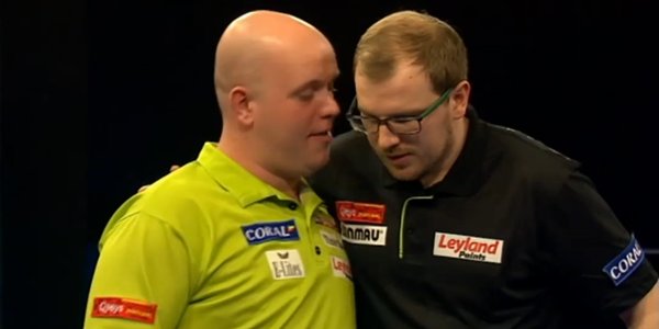 Darter van Gerwen i Webster