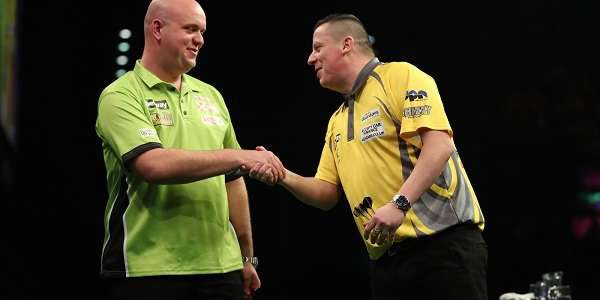 Betway Premier League Night 13 – Thursday April 27 Barclaycard Arena, Birmingham James Wade 7-4 Adrian Lewis Dave Chisnall 6-6 Michael van Gerwen Phil Taylor 3-7 Peter Wright Gary Anderson […]