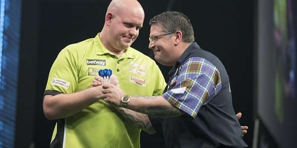 Betway Premier League Night 14 – Thursday May 4 The Sheffield Arena Peter Wright 7-2 Adrian Lewis Raymond van Barneveld 5-7 Dave Chisnall James Wade 3-7 Gary Anderson Michael van […]